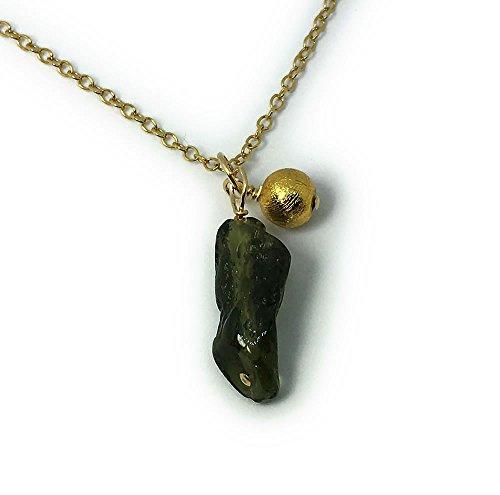 ギベオン隕石 & モルダバイト原石 パワーストーン ペンダントトップ トップのみ チェーンなし