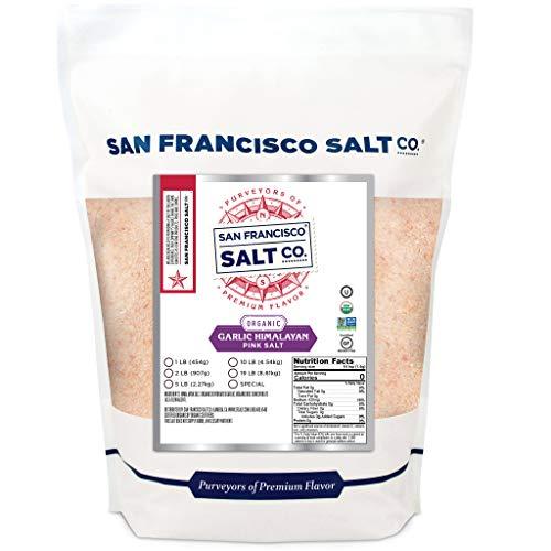 San Francisco Salt Company Organic Garlic Himalayan Salt