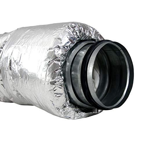 Klimapartner Ultraflex 200 - Ductos duraderos altamente flexibles del silenciador