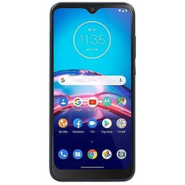 Total Wireless Motorola Moto e 4G LTE Prepaid Smartphone (Locked) – Midnight Blue – 32GB – Sim Card Included – CDMA