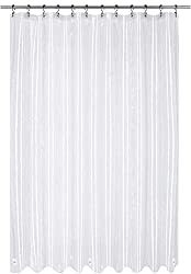 Utopia Clear EVA Shower Curtain Liner