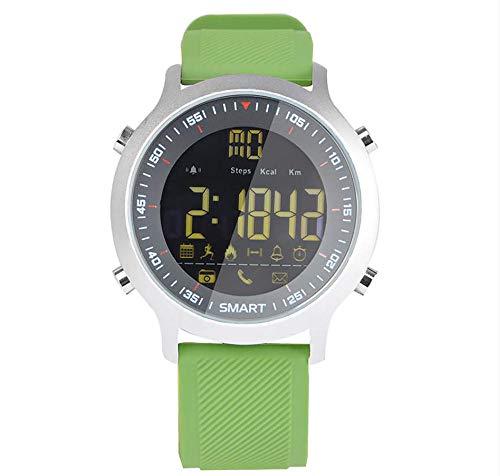 MZ EX18 Smartwatch Bluetooth Sport Fitness Armband Kamera Fernbedienung Armband Wasserdicht Aktivitätstracker für Damen und Herren Austauschbares Armband