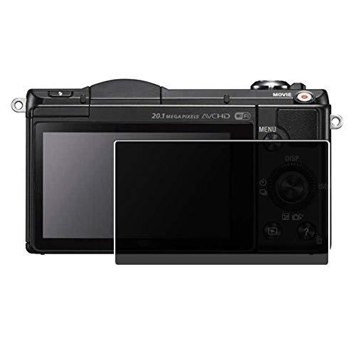 Vaxson TPU Pellicola Privacy, compatibile con Sony Alpha 5000 α5000 A5000, Screen Protector Film Filtro Privacy [ Non Vetro Temperato ]