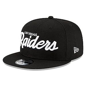 New Era Men's Black Las Vegas Raiders Griswold Original Fit 9FIFTY Snapback Hat by NEW ERA CAP COMPANY