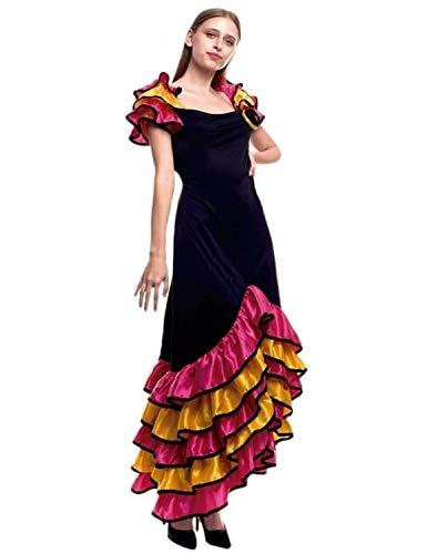 Disfraz de Rumbera Largo - Mujer, M