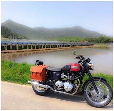 Canvas motorcycle saddlebags _image4