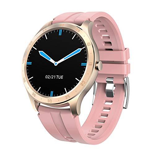 Reloj Deportivo, Reloj con podómetro con Pantalla táctil 1.3, Monitor de frecuencia cardíaca y Resistente al Agua IP67, Adecuado para Mujeres, Hombres, Compatible con iOS y Android
