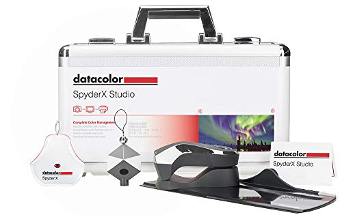 Datacolor SXSSR100 SpyderX Studio: Suite of Photo Tools for Precision Control from Capture to Editing and Print