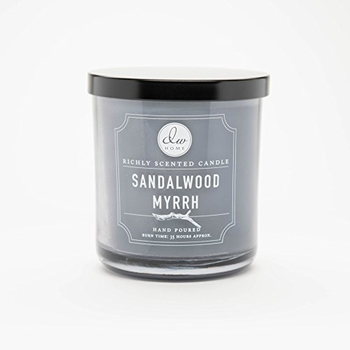 DW Home Medium Single Wick Candle, Sandalwood Myrrh