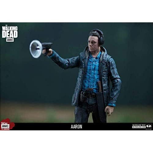 The Walking Dead 14655 TV Aaron Exclusive Figure, 12,7 cm