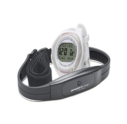 Sportline Cardio 660 Women's Monitor With Calorie and Fat-Burn Tracker, And Fat-Burn Zone Indicator