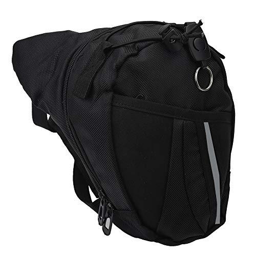 VGEBY Ceinture Taille Pack, Sac de Jambe Réglable de Sport Sac de Cuisse Banane Molle Sac de Multifontion pour Randonnée Camping Cyclisme Pêche Chasse