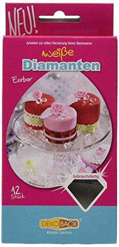 Dekoback Essbare Diamanten (1 x 6 g)