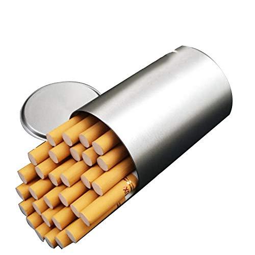 Estuche para cigarrillos, Estuche para cigarrillos de latón, Estuche para 20 cigarrillos para hombres, resistente a la humedad y a la compresión, No se oxida fácilmente, Estuche para cigarrillos de
