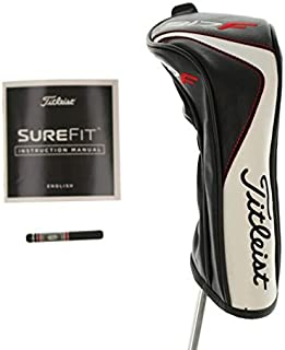 Titleist New 917 F2 F3 Fairway Wood Headcover W/Surefit Manual & 14g Fade/Draw Weight