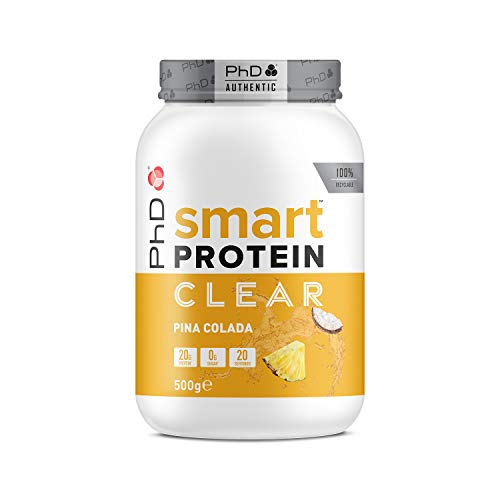 PhD Nutrition Smart Potein Clear, Pina Colada, 500 g