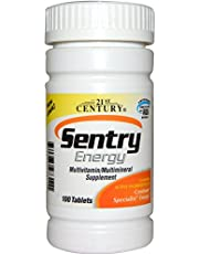 21st Century, Sentry Energy, Multivitamin,Multimineral Supplement, 100 Tablets