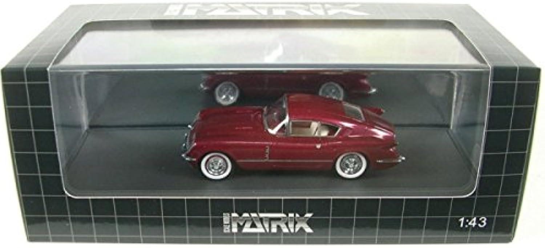 salida Chevrolet Corvette corvair Concept (rojo Metallic) Metallic) Metallic) 1954  muy popular