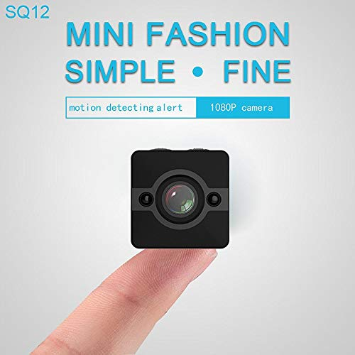 Mini Spy Camera, 1080 HD, spionagecamera, verborgen spionagecamera, waterdicht, infrarood, draagbaar, draadloos, mini-actiecamera met houders