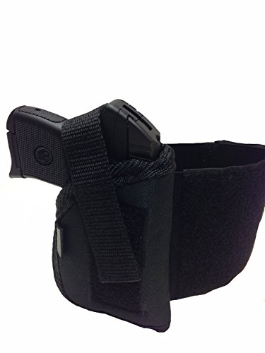 Pro-Tech Outdoors Comfortable Ankle Holster Fits Beretta Tomcat 3032, 32acp,Bobcat 21, Kel-tec P-32, P-3at, Sig Sauer P238 Cal. Ruger Lcp