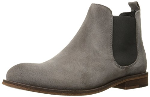 1883 By Wolverine Women's Jean Chelsea Boot Ankle Bootie, Grey Suede, 5.5 M US