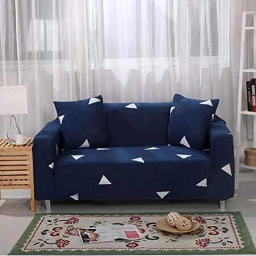 chenhe Simplicidad Moderna Elastica Funda de Sofa,Cojín elástico de la Funda del sofá,cojín Impermeable de la protección del sofá,para perros/mascotas-A23_2 Personas(145-185cm/57-73)