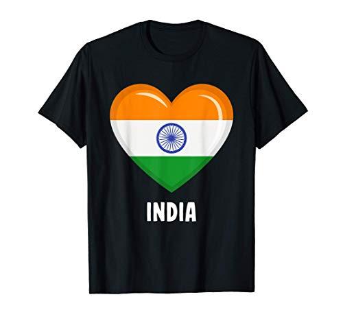 Trikot mit indischer Flagge | Indisch T-Shirt