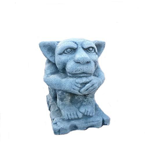 Steinfigur Gargoyle Torwächter Mauerhocker Drache Troll frostfest Steinguss