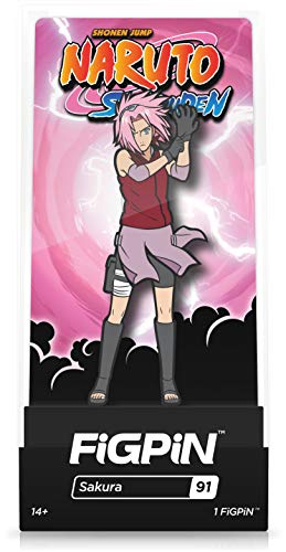 FiGPiN Naruto Shippuden: Sakura - Collectible Pin with Premium Display Case
