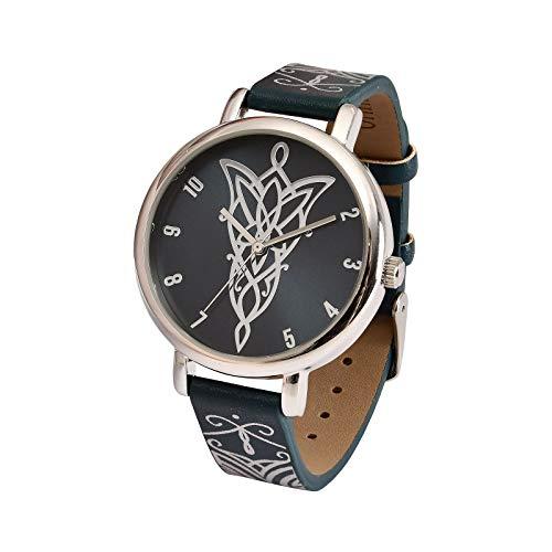 Accutime Watch Reloj de Pulsera El señor de los Anillos Arwen's Evening Star analógico Ø Caja 3,8 cm