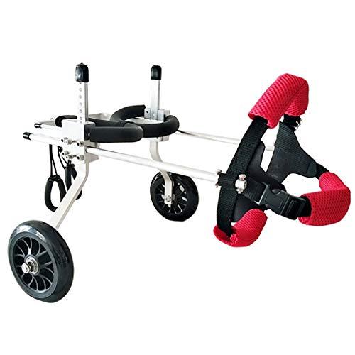 KHUY hond huisdier rolstoel revolutie, grote hond rolstoel, achterpoten revalidatie, licht en handig