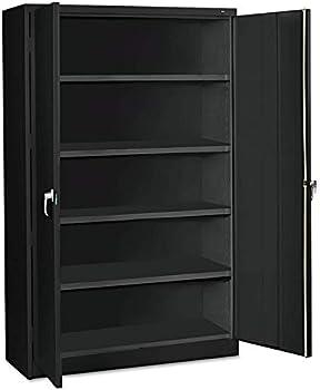 Tennsco 5 Shelves Heavy Gauge Steel Jumbo Storage Cabinet