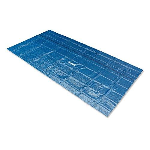 Leisure Solarabdeckplane schwarz/blau 260 x 160 cm für Pool