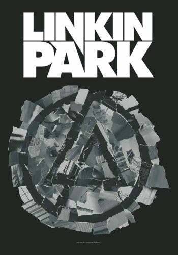 Linkin Park Drapeau – Pieced Together – poster drapeau 100% polyester 75 x 110 cm