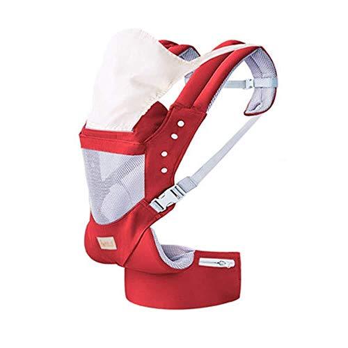 Portador de bebé Rojo ergonómico Portabebés, suave y