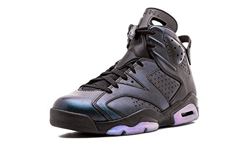Jordan Men's Air 6 Retro AS, Black/Black-White