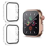 HAPAW Protection écran Compatible avec Apple Watch Series SE/Series 6/Series 5/Series 4 40mm, [2...