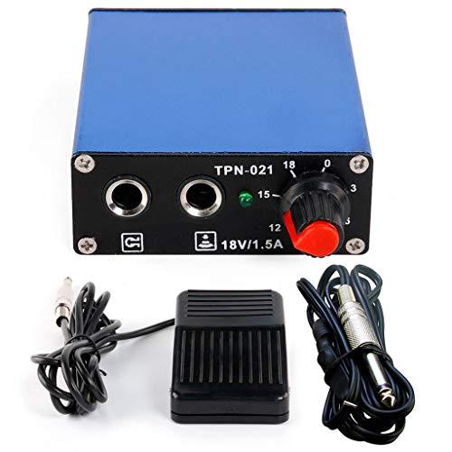 Tattoomachine powerpedaalschakelaar-lijn all-in-one accessoires voor extra apparaten Mini Square Power Supply Tool