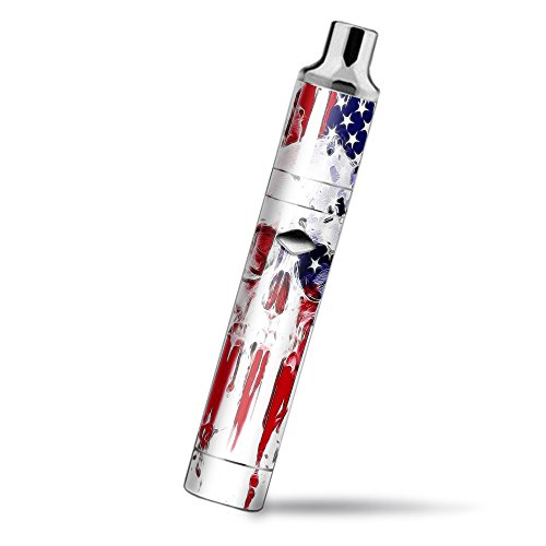 Skin Decal Vinyl Wrap for Yocan Magneto Pen Vape Mod stickers skins cover/ U.S.A. Flag Skull Drip