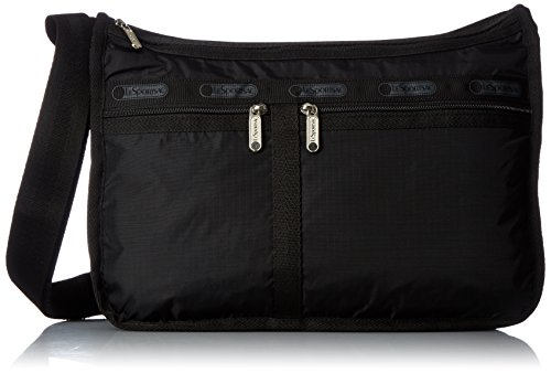 LeSportsac Classic Deluxe Everyday Bag, Black
