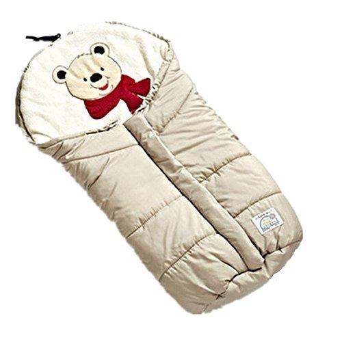 Marsupio Sacco a Pelo Universale Adatto Per l'inverno Caldo Ottomani Seggiolino Per Auto Bambino Caldo Cuscino Comfort
