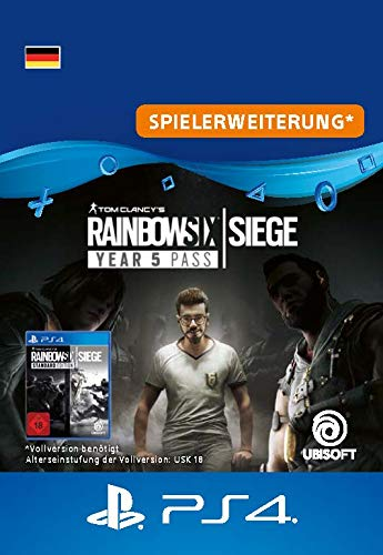 Tom Clancy's Rainbow Six Siege Year 5 Pass | PS4 Download Code - deutsches Konto