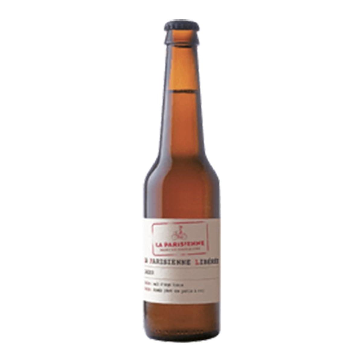 毎日ストラトフォードオンエイボン違反するラ パリジェンヌ リベレ 5.5度 330ml 24本セット(1ケース) 瓶 フランス ビール [並行輸入品]
