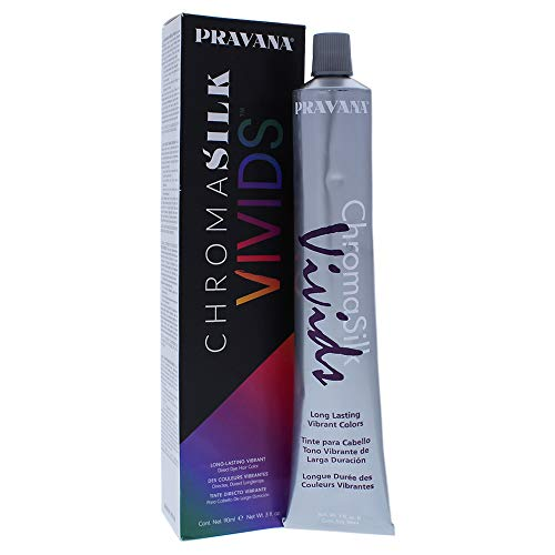 Pravana Chromasilk Vivids Long-lasting Vibrant Color - Silver By...