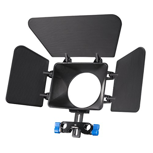 Walimex pro zonneklep mat box voor DSLR Video Rig, Cineast I, zwart