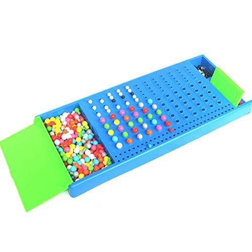 BSOA Mastermind Code Breaking Brettspiel, Montessori Spielzeug für Familienkinder Pädagogische intellektuelle Entwicklung Crack Game Strategie Brettspiel