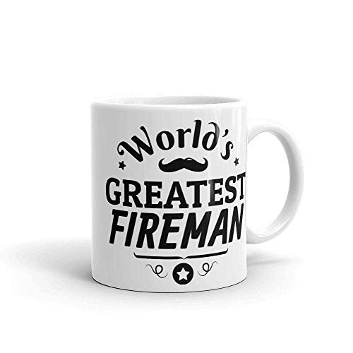 N\A Taza de café del Bombero Varonil del Bombero más Grande del Mundo, Regalo de él