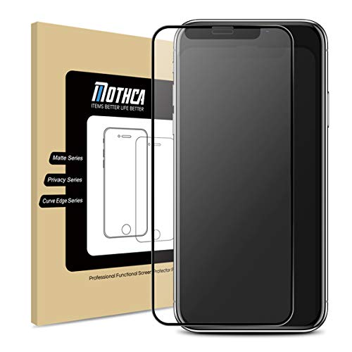 Mothca Matte Screen Protector for iPhone 11 Pro Max/iPhone Xs Max Anti-Glare & Anti-Fingerprint Tempered Glass Clear Film Full Screen Case Friendly Easy Install Bubble Free - Smooth as Silk Amazing Touch