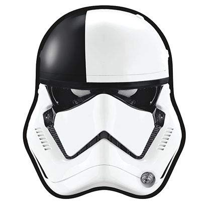 X Kites Face Kite Star Wars The Last Jedi First Order Stormtrooper Executioner Nylon Star Wars Kite, 28 Inches Tall