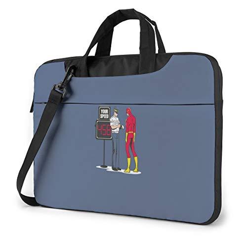 Laptop Sleeve Case,Super Man-Overspeed Briefcase Messenger Notebook Computer Bag 15.6 Inch